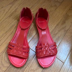 Cole Haan orange sandals